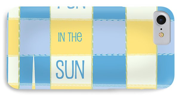 Fun In The Sun IPhone Case by Bonnie Bruno