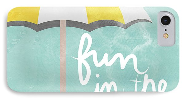 Fun In The Sun IPhone Case by Linda Woods