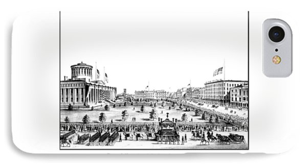 Funeral Obsequies Of President Lincoln Phone Case by War Is Hell Store