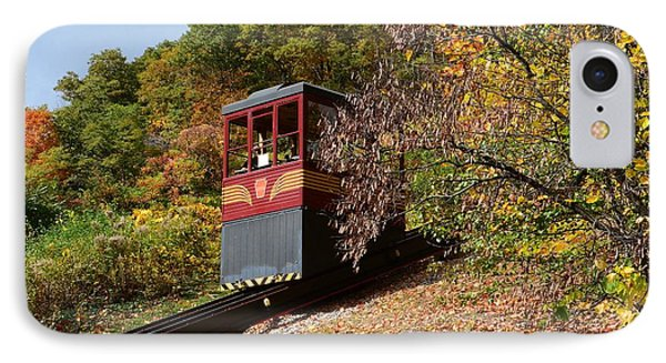 Funicular Descending IPhone Case by Cindy Manero