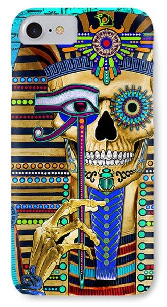 Funky Bone Pharaoh IPhone Case
