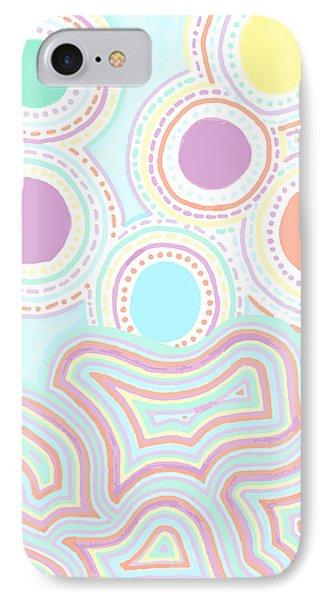 Funky Fun IPhone Case by Jill Lenzmeier