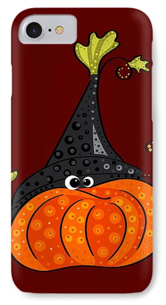 Funny Halloween IPhone Case by Veronica Minozzi
