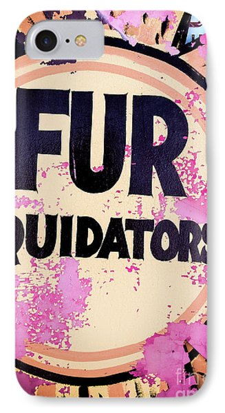IPhone Case featuring the photograph Fur - Sign by Colleen Kammerer