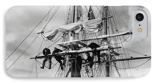 Furling The Sails IPhone Case by Linda Lees