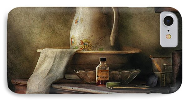 Furniture - Table - The Water Pitcher Phone Case by Mike Savad