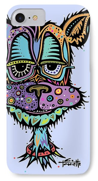 IPhone Case featuring the drawing Furr-gus by Tanielle Childers