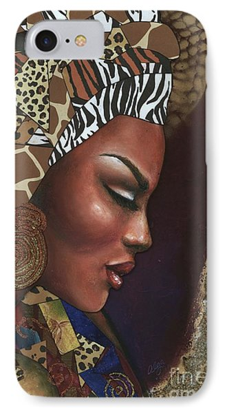 Further Contemplation IPhone Case by Alga Washington