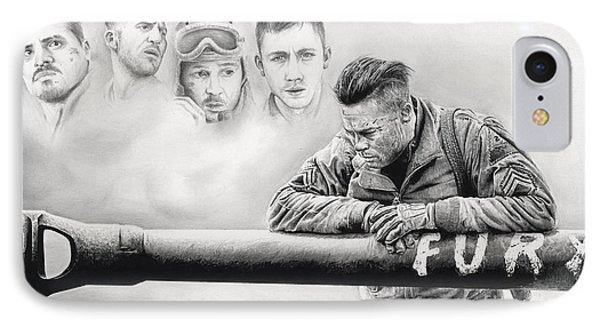 Fury Crew IPhone Case by James Holko