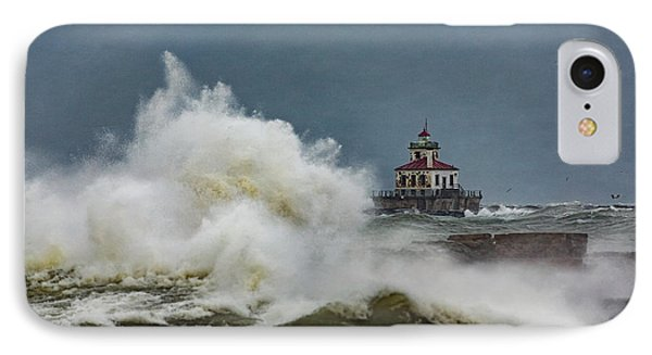 IPhone Case featuring the photograph Fury On The Lake by Everet Regal