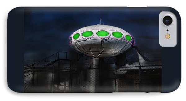 Futura  Saucer Home IPhone Case