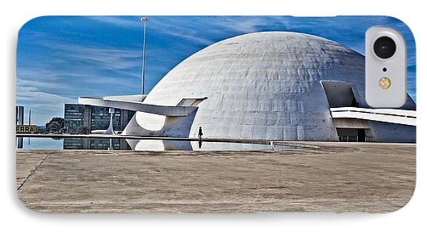 IPhone Case featuring the photograph Future Dome by Kim Wilson