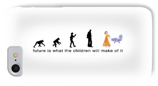Future Is What The Children Will Make Of It IPhone Case