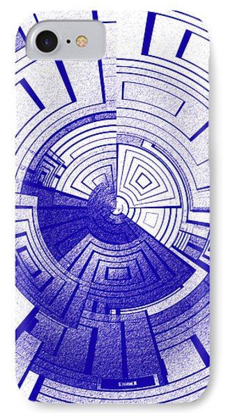 Futuristic Abstract IPhone Case by Gaspar Avila