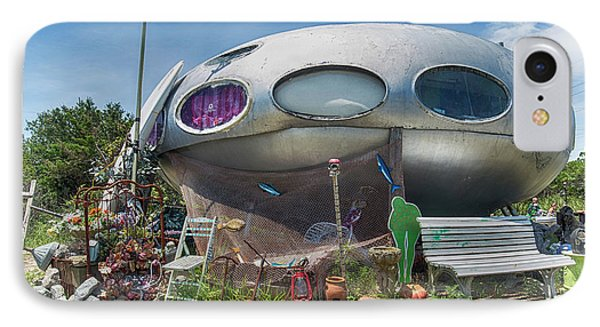 IPhone Case featuring the photograph Futuro House by Alan Raasch