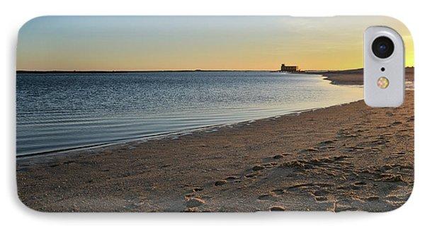 Fuzeta Beach Sunset Scenery. Portugal Phone Case by Angelo DeVal