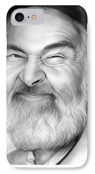 Gabby Hayes IPhone Case by Greg Joens
