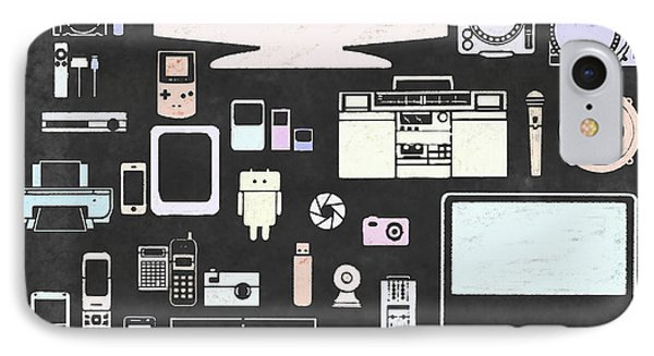 Gadgets Icon Phone Case by Setsiri Silapasuwanchai