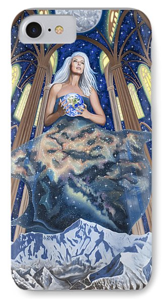 Gaia IPhone Case by Karen MacKenzie