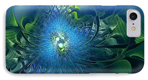 Gaia's Emergence Phone Case by Casey Kotas