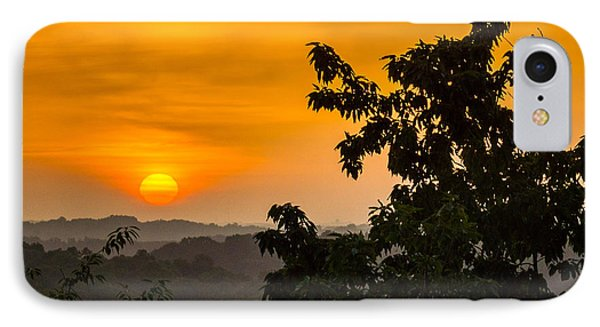 Gainesville Sunrise IPhone Case by Michael Sussman
