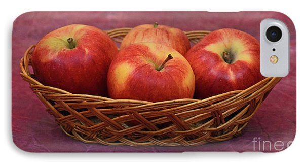 Gala Apple Basket IPhone Case by Ray Shrewsberry
