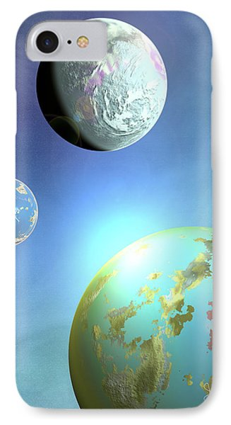 Galaxy 2 Phone Case by John Keaton