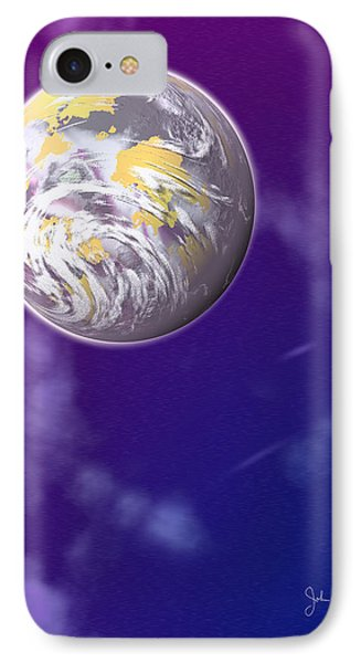 Galaxy 3 Phone Case by John Keaton