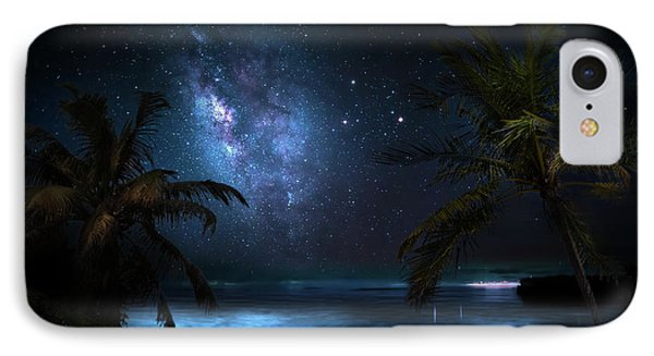Galaxy Beach IPhone Case by Mark Andrew Thomas