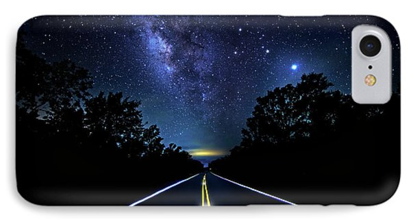 IPhone Case featuring the photograph Galaxy Highway by Mark Andrew Thomas