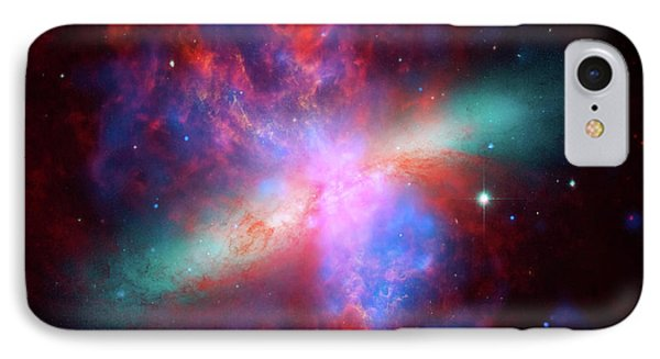 Galaxy M82 IPhone Case by Marco Oliveira