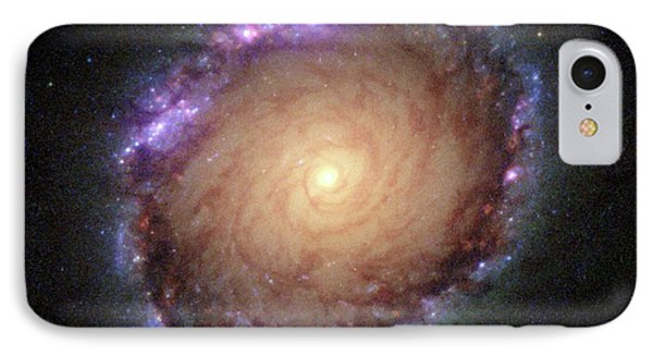 Galaxy Ngc 1512 IPhone Case by Hubble Space Telescope