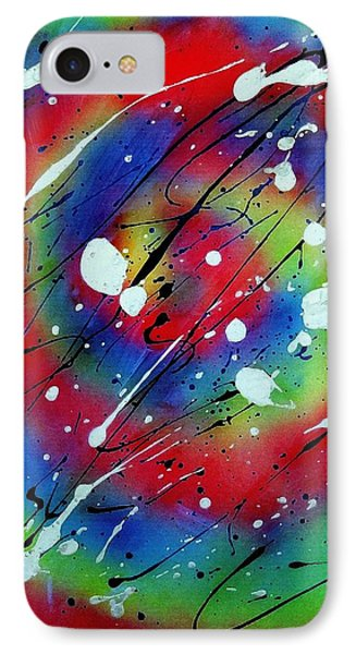 IPhone Case featuring the painting Galaxy by Patrick Morgan
