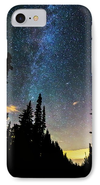 IPhone 7 Case featuring the photograph  Galaxy Rising by James BO Insogna