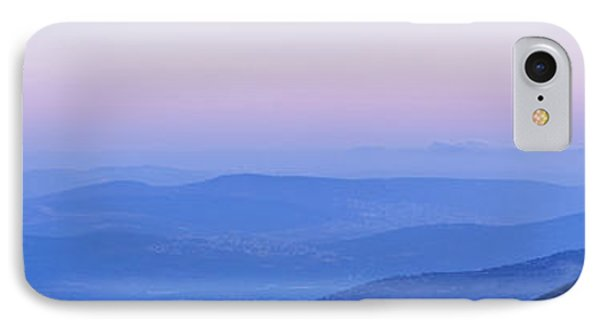 IPhone Case featuring the photograph Galilee Mountains Sunset by Yoel Koskas