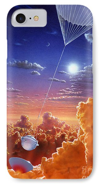 Galileo Space Probe Phone Case by Lionel Bret and Photo Researchers