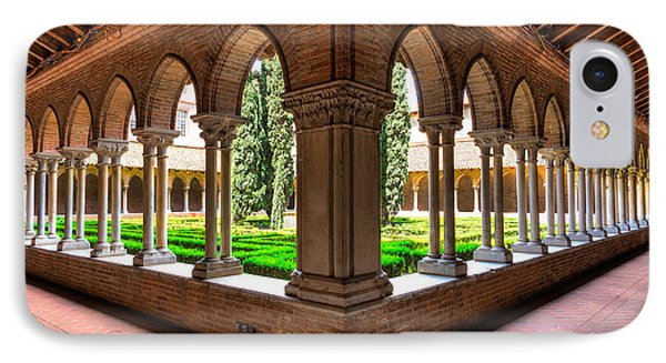Gallery Insde Eglise Des Jacobins Or Church Of The Jacobins IPhone Case by Semmick Photo