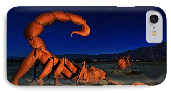 Galleta Meadows Estate Sculptures Borrego Springs IPhone Case by Sam Antonio