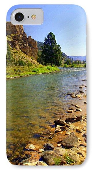 Gallitan River 1 Phone Case by Marty Koch