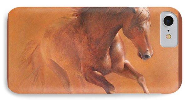 Gallop In The Desert IPhone Case