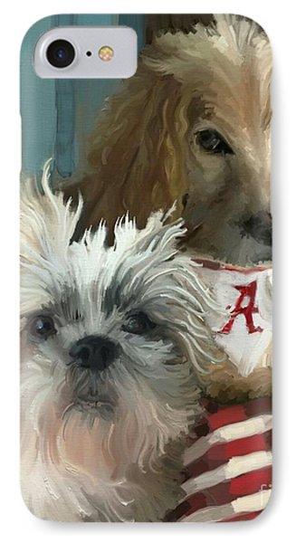 Game Day IPhone Case by Carrie Joy Byrnes