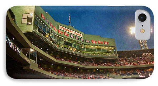 Game Night Fenway Park - Boston IPhone Case by Joann Vitali