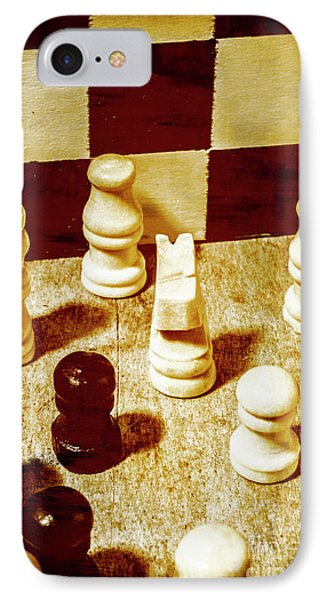 Game Of Chess And Tactics IPhone Case by Jorgo Photography - Wall Art Gallery