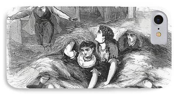 Games: Hide And Seek, 1887 Phone Case by Granger