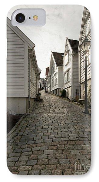 Gamle Stavanger IPhone Case by Anne Gilbert