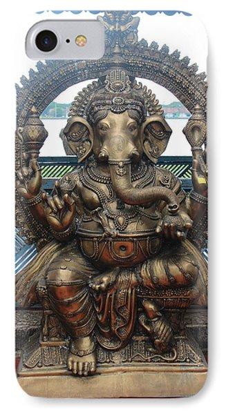 Ganapati Bronze Statue, Fort Kochi IPhone Case
