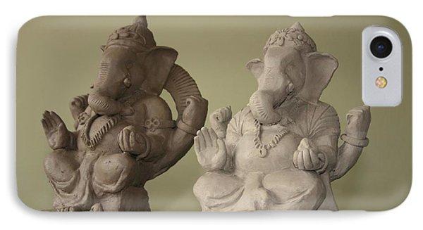 Ganapati Idols Phone Case by Mandar Marathe