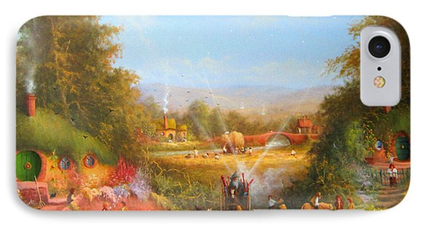 Gandalf's Return Fireworks In The Shire. IPhone 7 Case by Joe  Gilronan