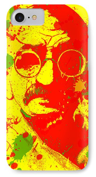 Gandhi Splatter IPhone Case