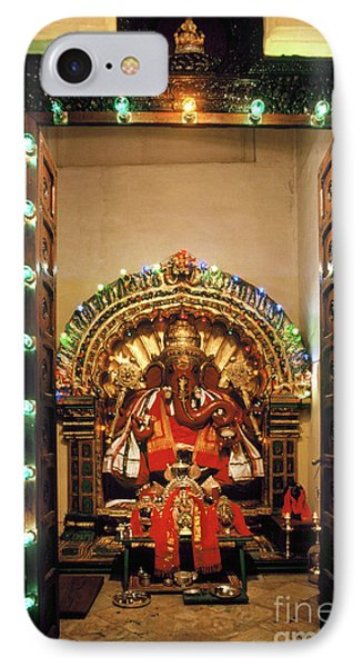 IPhone Case featuring the photograph Ganesh Shrine by Granger